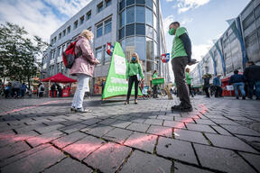 Group Action Day for Forest Protection in Bielefeld