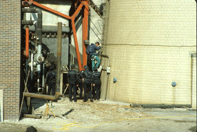 Action at Northwest Incinerator in Chicago