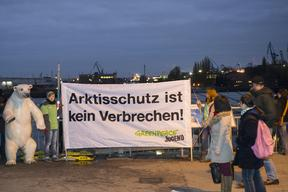 """Save the Arctic"" JAGs Action Hamburg"