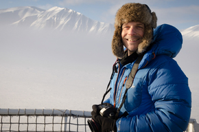 Portrait of Photographer in Svalbard