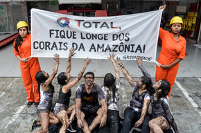Defend the Amazon Reef Protest (Global Day of Action) in São Paulo, Brazil