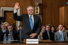 Interior Secretary Nominee David Bernhardt's Hearing in Washington DC