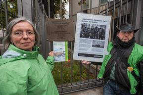 'Arctic 30' Global Day of Solidarity in Frankfurt