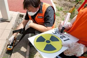 Radiation Test in Fukushima Playgrounds