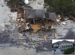 Hurricane Sandy Aftermath in NJ