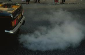 Car Exhaust Fumes in London