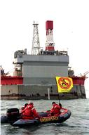 Action against Sakhalin Energy's Oil Rig
