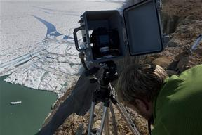 Time Lapse Cameras Record Ice Breakups