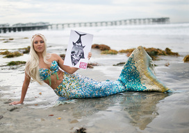 Chicken of the Sea Mermaid Protest in California
