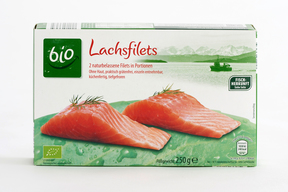 Salmon Products from German Supermarkets