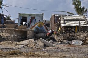 Cyclone Phailin Aftermath in India