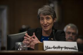 Sally Jewell Interior Hearing