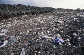 Cliffville Landfill Site in the UK