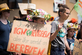 """Fridays for Future"" Demonstration near Open-Pit Coal Mine Garzweiler II"
