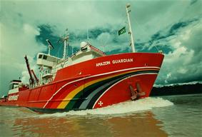 Greenpeace Ship Amazon Guardian
