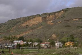 La Conchita Mudslide Devastation Coastal California