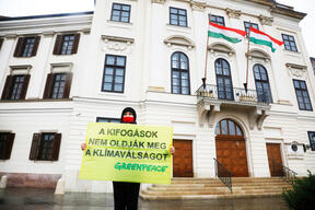 65 Hour Long Protest in Hungary