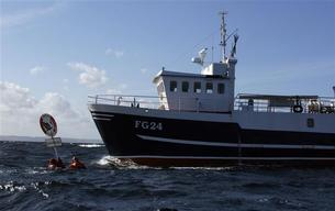 Oceans Action against Cod Trawler