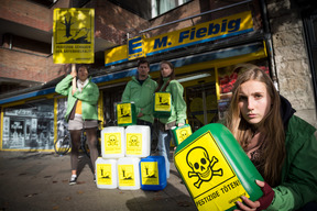 Pesticides Group Action in Berlin