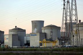 Action inside EDF's Tricastin Nuclear Power Plant in France - Riverside