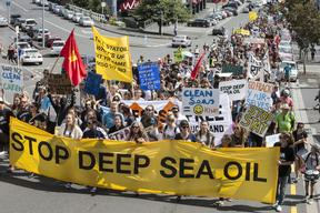 March Against Deep Sea Oil in NZ
