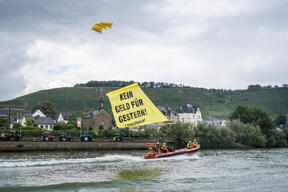 Protest Against EU Agri-Subsidies in Koblenz
