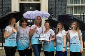 Coalition of Environmental Groups Hand in the Microbeads Petition in London