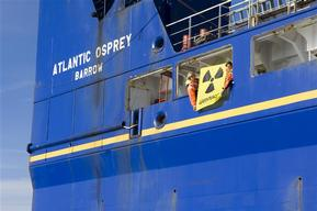 Action against Swedish Nuclear Waste Transport