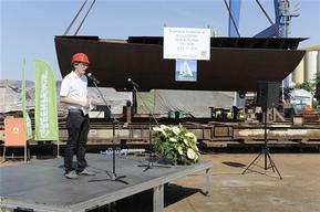 Robert Cyglicki at Ceremony in Gdansk