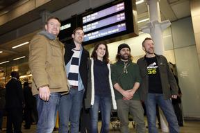 'Arctic 30' Return Home to the UK