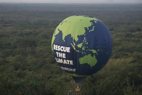 Hot Air Balloon for COP16 in Mexico