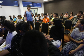 Greenpeace Youth Wavemakers Camp in Chonburi