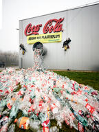 Action at Coca-Cola Bottling Plant in Austria