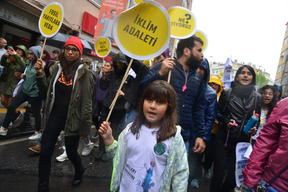 Global Climate Strike March in Turkey