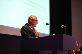 Peter Clements at Statoil Annual General Meeting in Stavanger