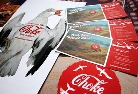 Materials for the Coca Cola Ocean Plastics Campaign