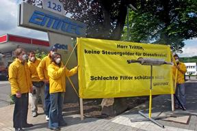 Diesel Filter Protest in Germany