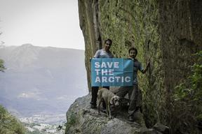 'Mountains and Rooftops' Arctic Sanctuary Action in Jalisco