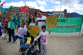 COP21: Climate March in Bogota