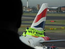 Climate Action at Heathrow Airport in UK