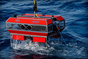 Esperanza in the North Sea - ROV Testing