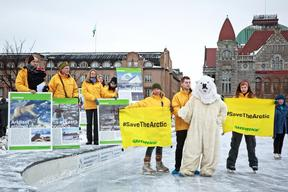 Save the Arctic Action in Helsinki