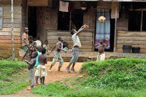 Children Playing in Cameroon