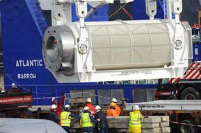 Nuclear Waste Transport from Sellafield to the Dutch Storage COVRA