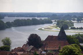 River Elbe Flooding near Hitzacker
