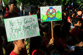 Break Free from Fossil Fuels Activity in Batangas