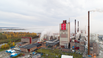 Protest at SCA's Östrand Pulp Mill in Sweden