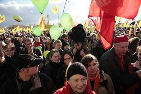 Anti-Nuclear Demonstration in Germany