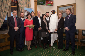 The Pew Trusts with Lewis Pugh at the Blue Belt Charter Parliamentary Reception in London