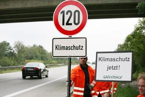 Speed Limit Action near Munich